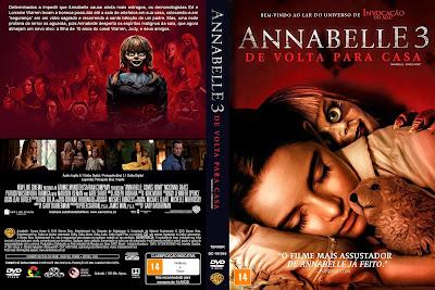 Filme Annabelle 3 - De Volta Para Casa (Annabelle Comes Home) DVD Capa