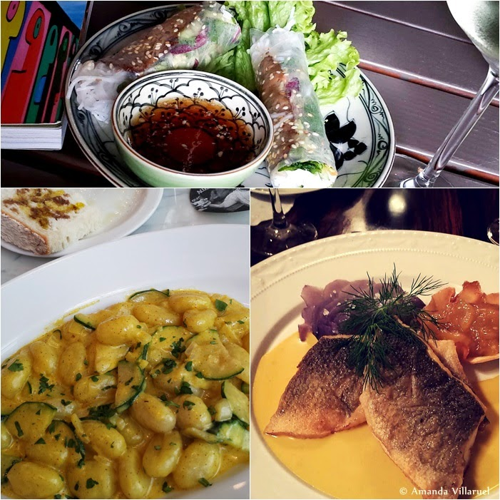 No. 1: Vegan rolls in Kastanianallee No 2: Gnocchi in Charlottenburg. No. 3: Fine dining at Heising in Charlottenburg
