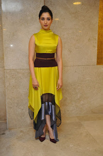 tamanna stills at okkadochadu audio launch
