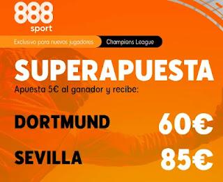 888sport superapuesta Dortmund vs Sevilla 9-3-2021