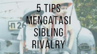 Bagaimana mengatasi Sibling Rivalry