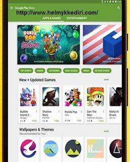 Update aplikasi playstore
