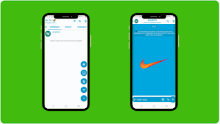 THEME WHATSAPP (GB, YO) - NIKE BLUE