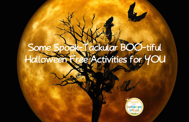 Are you ready for Halloween? Well if you are still thinking about what to do in your classroom this year, I have some Boo-tiful FREE ideas for you and I think you will love them all...Enjoy and have some SPOOKY fun!