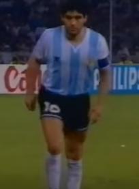 ركلة ترجيح مارادونا امام إيطاليا 1990