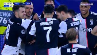هدف فوز يوفنتوس علي اتلتيكو مدريد (1-0) دوري ابطال اوروبا