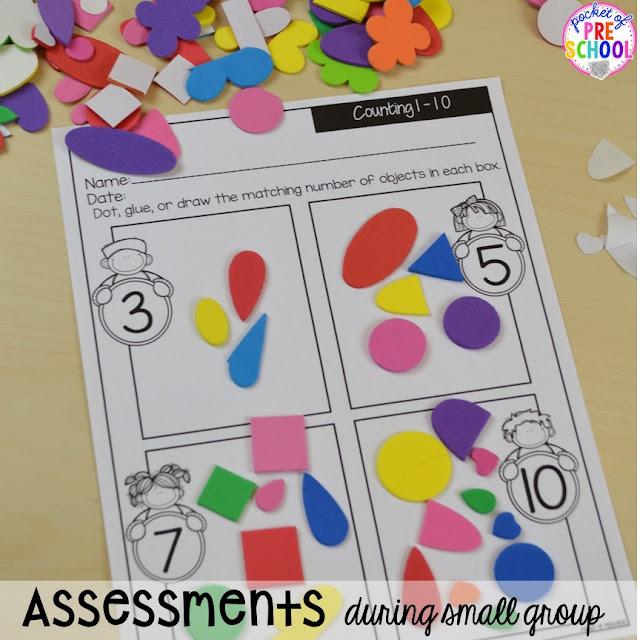 Organization HACKS to make student portfolios and assessments easier. For preschool, pre-k, and kindergarten.