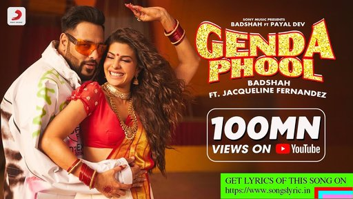 Genda Phool lyrics - badshah| JacquelineFernandez | Payal Dev