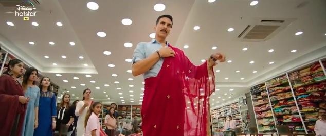 Laxmmi bomb movie teaser : लाल बिंदी-साड़ी में 'लक्ष्मी अवतार में नजर आए अक्षय कुमार, काॅमेडी एवं बेहद डरावने नजर आए स्टार