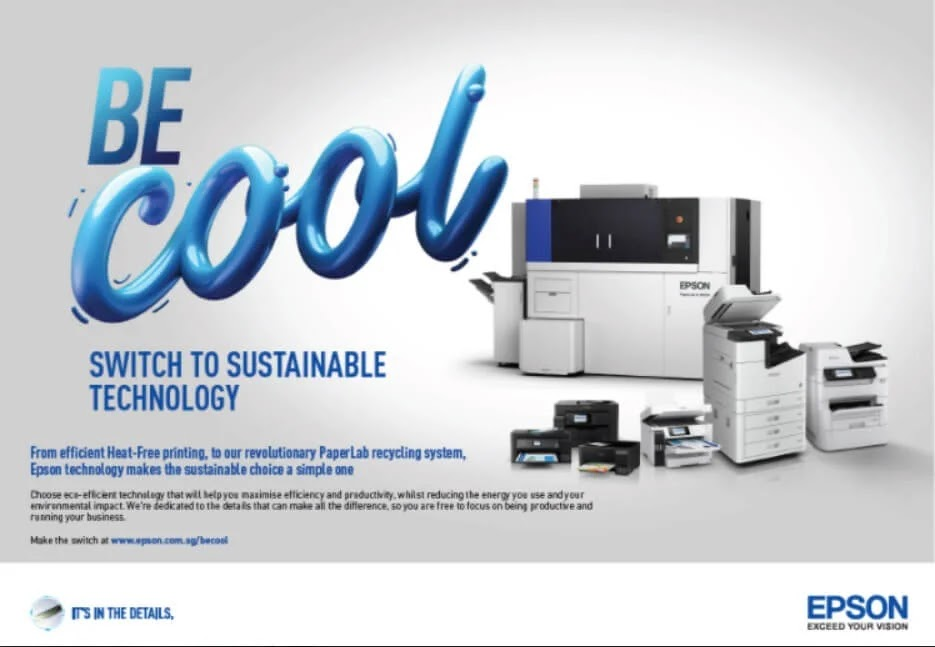 "Epson Launches ""Be Cool"" Printer Sustainability Campaign"