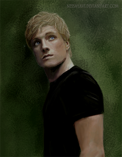 Fan art, Peeta Mellark, Book tag, Navidad, Book Tags