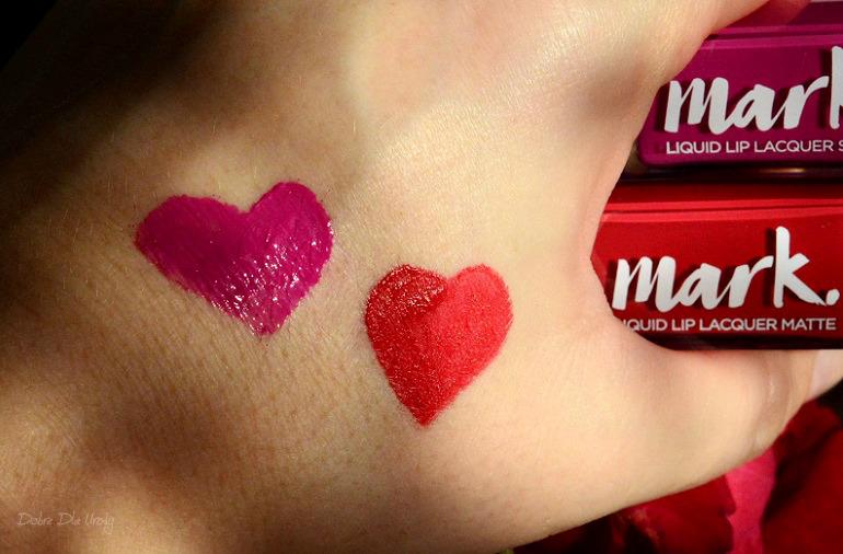 Avon Mark. Liquid Lip Lacquer - nowe szminki w płynie matowa i błyszcząca