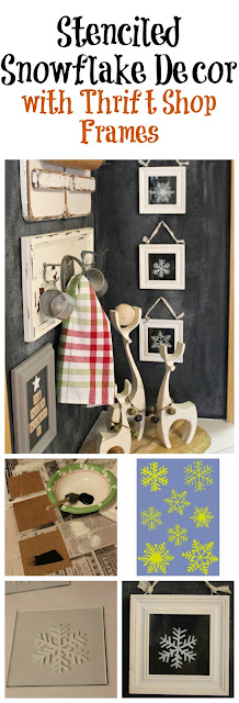 Easy & Inexpensive Winter/Christmas Decor www.organizedclutter.net