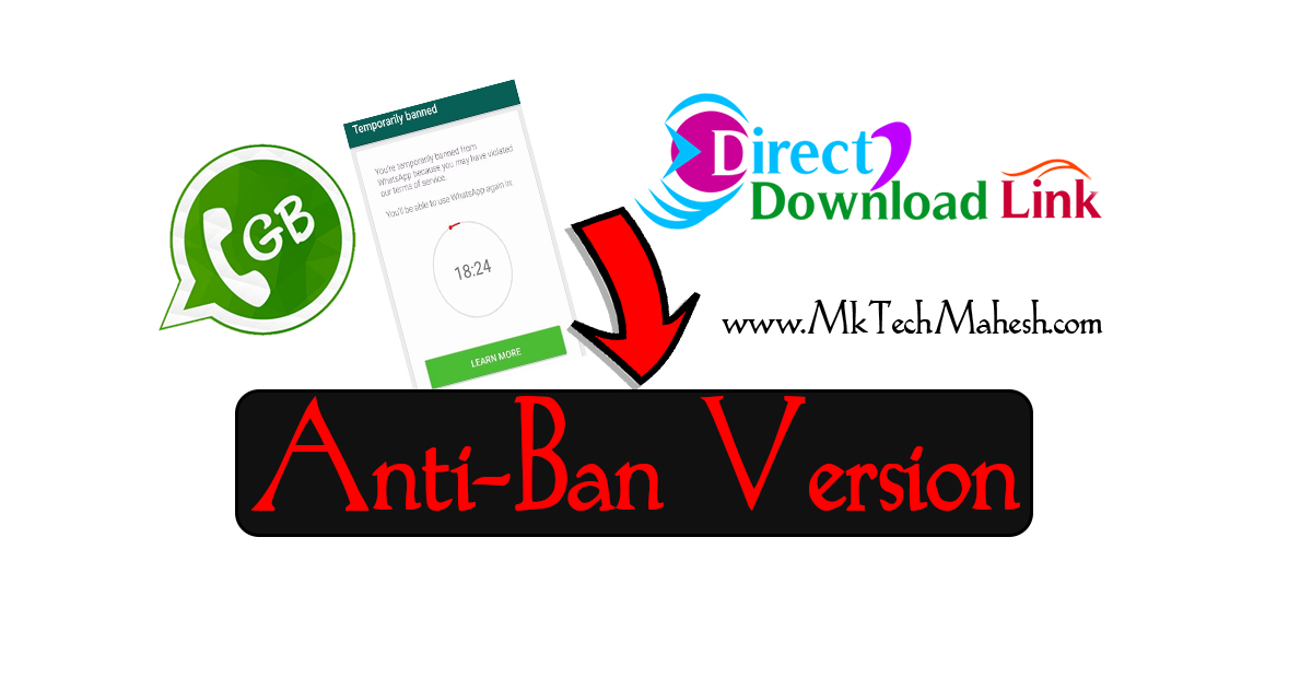 Temporarily Banned PROOF ] GBWhatsapp APK Download Latest