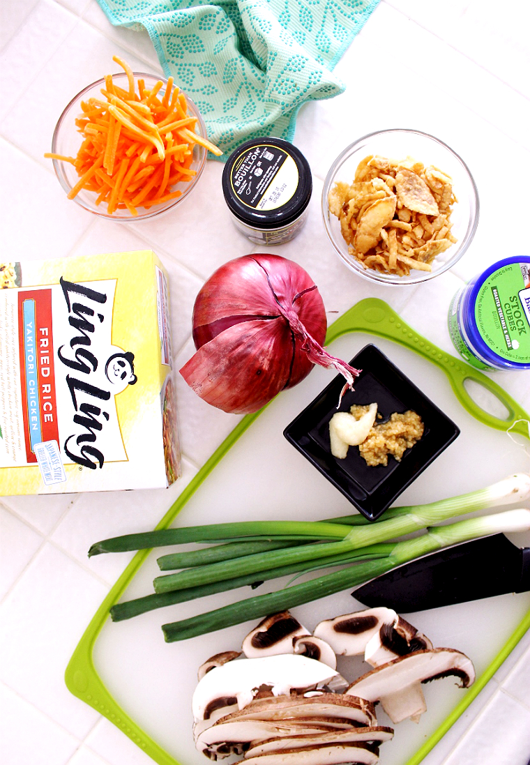 Simple any-night Asian-inspired meal solutions and recipes with #LingLingAsianFood. #LL #IC #AD