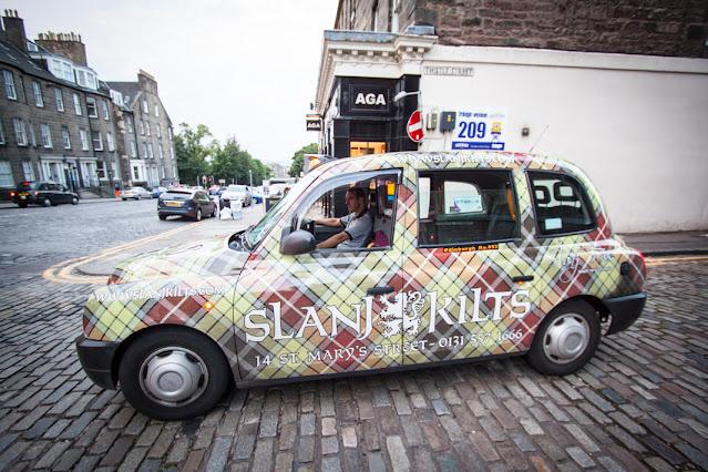 Edimburgo-Taxi