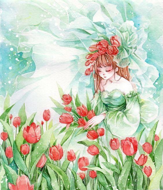 Aprile il mese del Tulipano.