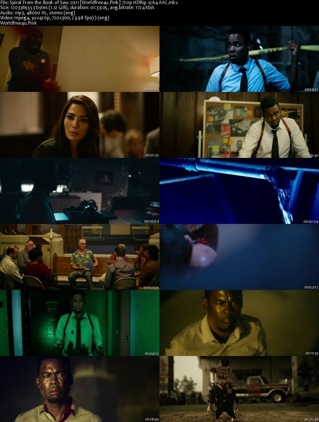 Spiral: From the Book of Saw 2021 English HDRip 720p