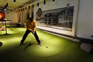 Swing by Golfbaren in Stockholm