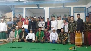 Rijalul Ansor Kecamatan Saguling Adakan Pengajian Rutin Bulanan