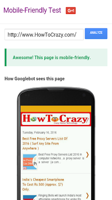 Is Your Website or Blog Mobile Friendly?