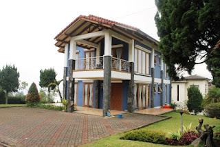 Villa Biru Lembang Bandung - Villa 3 Kamar