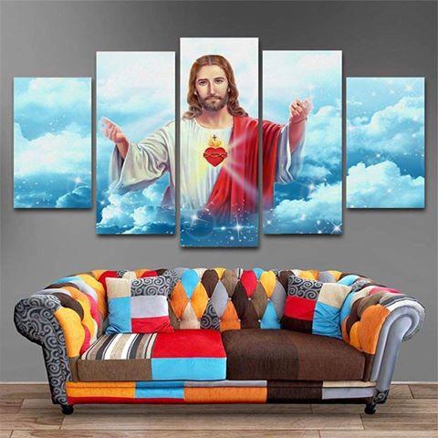 Tranh công giáo Chúa Giê Su Cầu Nguyện T36