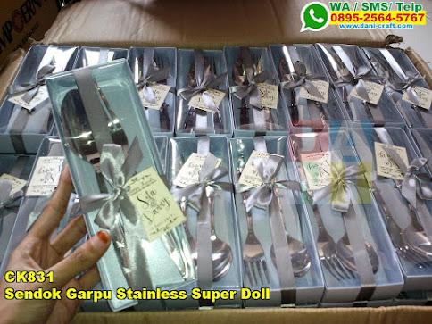 Harga Sendok Garpu Stainless Super Doll