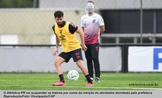 www.seuguara.con.br/Athletico/suspensão/treinos/