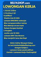 Lowongan Kerja di Belashop.com Surabaya Terbaru Desember 2019