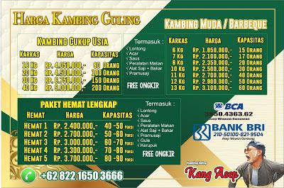 Harga Kambing Guling Bandung Desember 2020, kambing guling bandung, harga kambing guling bandung, kambing guling,