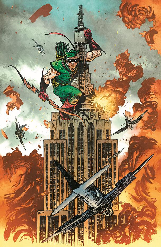 Green Arrow - Cover 1