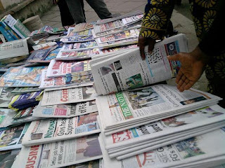 Latest Nigeria Newspapers Headlines for Today, Friday, June 23, 2017