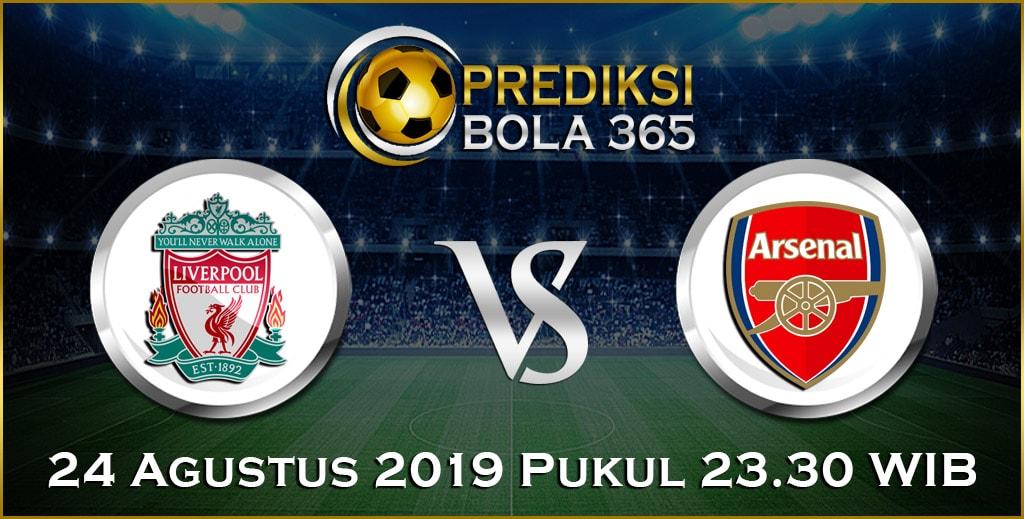 Prediksi Skor Bola Liverpool vs Arsenal 24 Agustus 2019