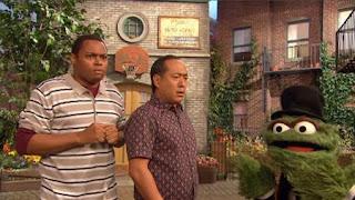 Alan, Chris, Oscar the Grouch, Sesame Street Episode 4324 Trashgiving Day season 43