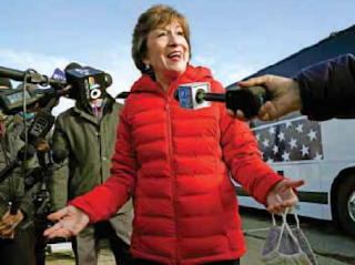 How Susan Collins survived the Resistance?