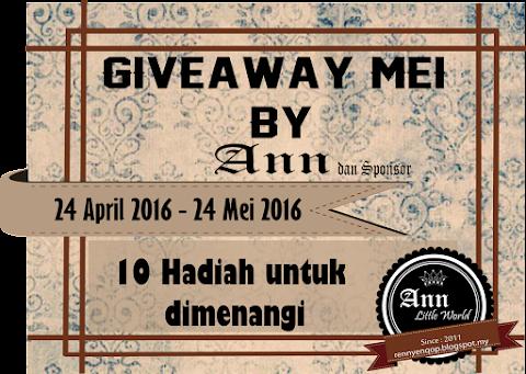 GiveAway Mei by Ann