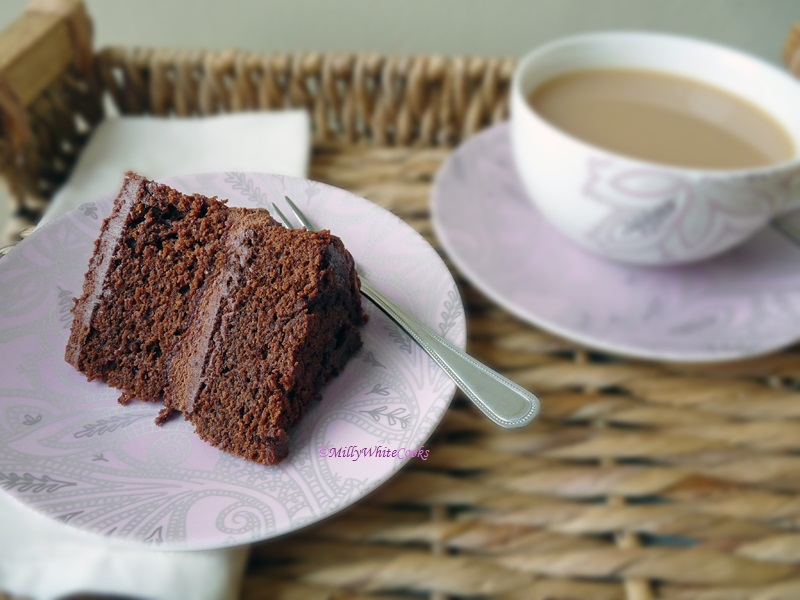 Gluten-Free Chocolate Ganache Cake