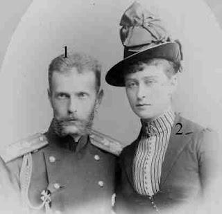 Großfürsten Sergei Alexandrowitsch /Prinzessin Elisabeth Alexandra Luise Alice von Hessen-Darmstadt und bei Rhein, Großfürstin Jelisaweta Fjodorowna