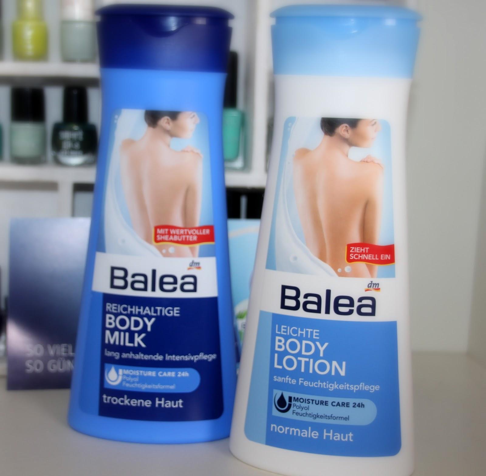 lacquervictim balea body milk body lotion pflegecreme soft creme. Black Bedroom Furniture Sets. Home Design Ideas