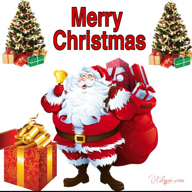 Merry Christmas wishes with beautiful images