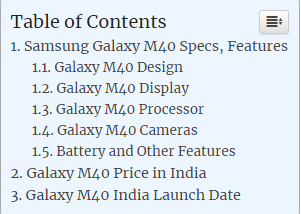 Samsung Galaxy M40 Specs, Features