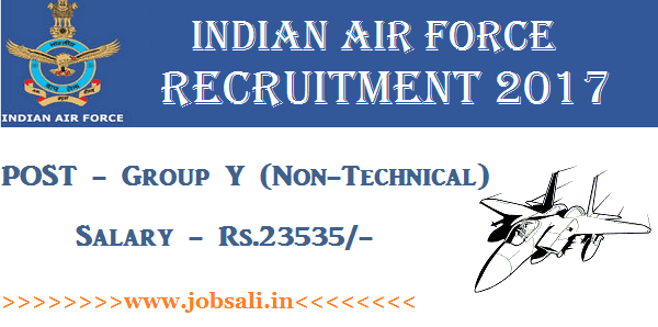 Air Force Rally in Tamilnadu, Air Force vacancy, Join Indian Air force jobs