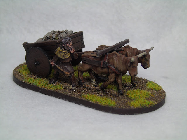 1st corp medieval waggon wagon cart baggage train