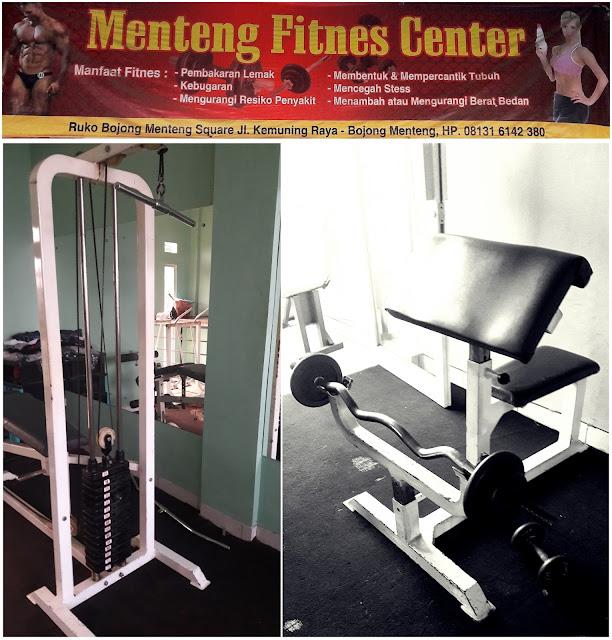 Menteng fitness center bekasi barat