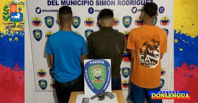 HAMPA CHAVISTA | Tres detenidos por matar a un hombre durante un asalto en Anzoátegui