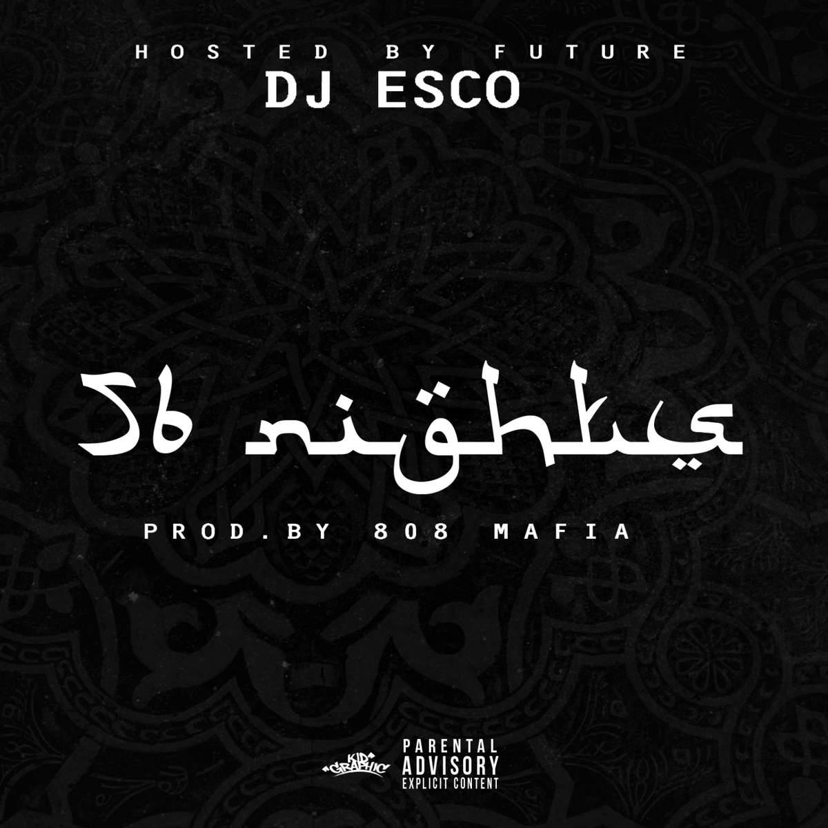 DJ Esco - 56 Nights Cover