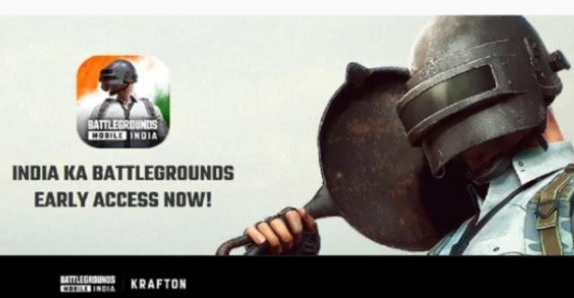 PUBG Mobile India version BGMI (Battlegrounds Mobile India)