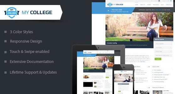 Template Wordpress untuk Sekolah
