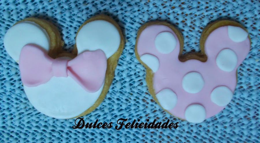 Galletas Minnie Fondant